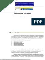 Evaluación Del Desempeño - Apuntes de Administración de Empresas y Negocios 2