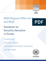 Ghid European Privind Educatia Sexuala Sexuala