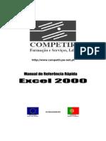 Manual de Refência Rápida EXCEL 2000 Ver00