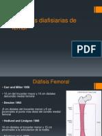 Fracturas Diafisiarias de Femur