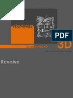 AutoCAD 3D  - Revolve