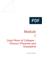 limit state of flexure