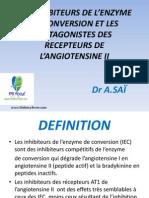 les inhibiteurs de l'enzyme de conversion et les ANTAGONISTES DES  RECEPTEURS DE L'ANGIOTENSINE II.pptx