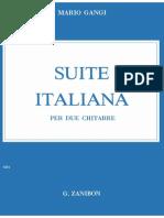 Suite Italiana (Two Guitars)