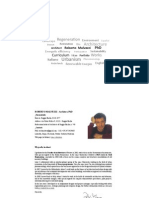 Curriculum Vitae and Portfolio of Works of Roberto Malvezzi