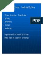 Topic 3 Protein Structure Abbrev