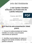 Mitigación Al Cambio Climático en La Producción de Ladrillo Artesanal