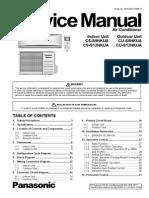 Panasonic AC Service Manual