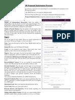 Proposal Form Details