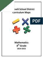curriculum map math 8th