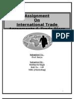 International Agreements & Tade Blocs
