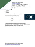 Lista de Exercícios Química Orgânica