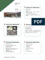 14. Origen y Fabricación - Cemento