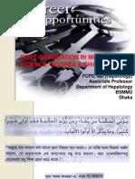 Career Opportunities 2012 Dr. Shahin