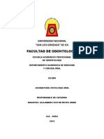 Silabos Patologia Oral