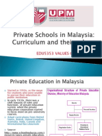 Private Schools in Malaysia and Their Curriculum-updated 26 November