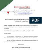 Registro e Porte de Armas Lei 10826