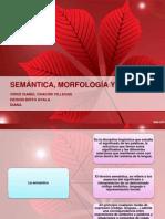 semantica, morfologia