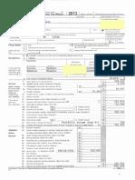 Peter Shumlin tax return