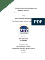 SKRIPSI Analisis Pengukuran Kinerja Perusahaan Dengan Konsep Balance Scorecard