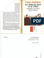 La Lucha de Clases en La URSS (Segundo Período) - Charles Bettelheim