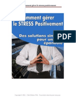 Comment Gerer Le Stress Positivement