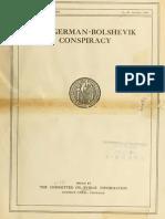 The German Bolshevik Conspiracy