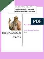 Dialógos Platón-lidia Arroyo Muñoz