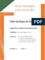 Sintesis Equipo 2, Tema 1.2 Arquitectura de Los Sistemas de BD