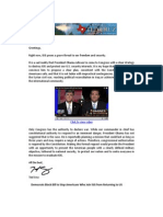 Cruz Newsletter 9/19/2014