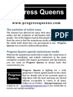 2014-09-19 Progress Queens (Flyer)
