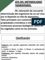 Diapossitivas de Pigmentos y Mienrales