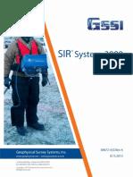 MN72433K1 SIR-3000 Operation Manual