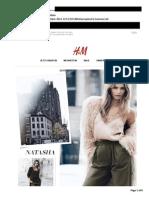 H&M Newsletter