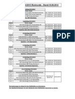 Spielplan 2014-2015 - Stand 19.09.2014 - Rückrunde
