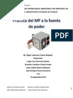 MP a La Fuente de Poder
