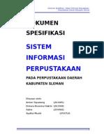 Contoh Studi Kasus, Sistem Informasi Perpustakaan