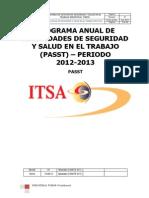 Passt 2012-2013 (Procedimiento)