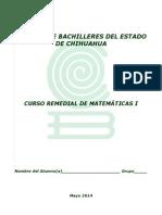 Remedial de Matemáticas i