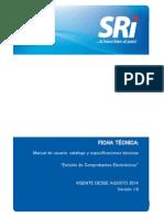 Ficha Tecnica Comprobantes Electronicos Versi-n 1.6