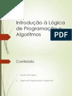 Aula 1 - Lógica de Programação-notebook