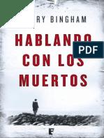 Hablando Con Los Muertos - Harry Bingham