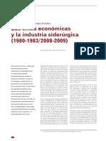 1. Las Crisis Económicas y La Industria Siderúrgica