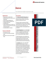 NEFD Sliding Sleeve Technical Datasheet