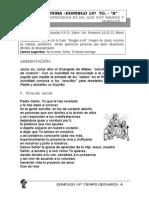 Lectio Divina Domingo 14 to Ciclo A