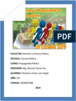 240234127 Mg. Marco Torres Paz Informe de Campana de Lima Propaganada Politica