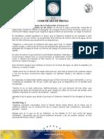 25-10-2010 El Gobernador Guillermo Padrés asistió al informe de trabajo del delegado de CONAGUA, Florencio Díaz Armenta, donde agradeció el apoyo de la federación al Sonora SI. B101096