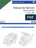 Manual Servicio Caja ZF 8-150FEB
