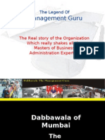 Dabbawalas Presentation