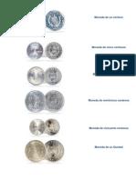 Monedas de Guatemala Solo Imagenes